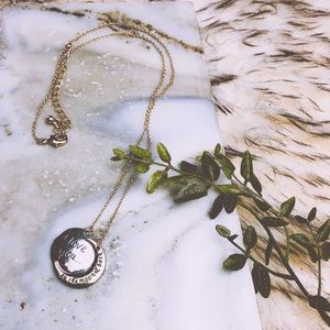 Jewelry - Dainty Gold & Silver Moon Necklace